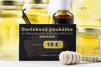 Darčekové poukážky - Darčekový poukaz 10 € - 10168430_