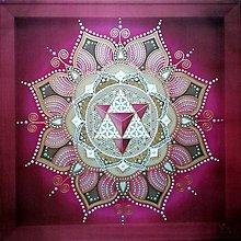 Obrazy - Mandala Vesmírnej rovnováhy - 10167510_