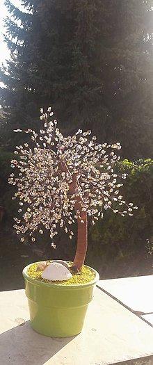 Dekorácie - farebný veľký stromček šťastia - 10164819_