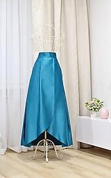 - MAXI skladaná sukňa  (obvod pásu do 80cm) - 10166345_