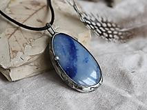 Náhrdelníky - Voda (modrý kremeň) - 10168532_