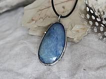Náhrdelníky - Voda (modrý kremeň) - 10168538_