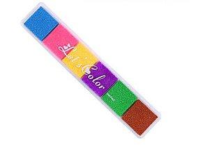 Farby-laky - PP101 Poduška pod pečiatky farebná - 10167231_