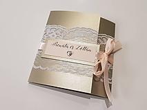 Papiernictvo - Svadobné oznámenie - 10165383_