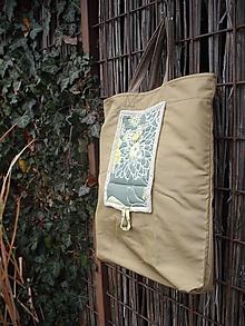 Nákupné tašky - nákupná taška zelená - 10165666_
