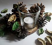 Svietidlá a sviečky - Svietnik Zimná pohoda - 10164627_