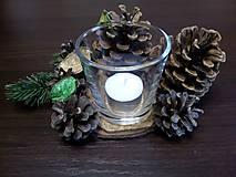 Svietidlá a sviečky - Svietnik Zimná pohoda - 10164629_