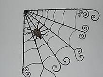 Dekorácie - Pavučina - dekorácia - 10164614_
