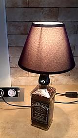 Svietidlá a sviečky - Jack Daniels lampa - 10165303_