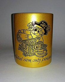 """Nádoby - Zlatý hrnček """"Našiel som svoj poklad"""" - 10164736_"""