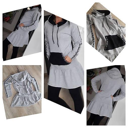 60d450f5b Teplákové šaty / Mija123 - SAShE.sk - Handmade Šaty
