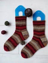 """Obuv - Vlnené ponožky """"CHERRY TREE"""" v.39/40 - 10164416_"""