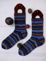 Obuv - Pánske vlnené ponožky v.40/41 - 10164431_
