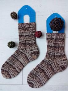 """Obuv - Vlnené ponožky """"Stracciatella"""" v.38/39 - 10164400_"""