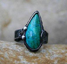 Prstene - Chryzokol prsten - 10168161_