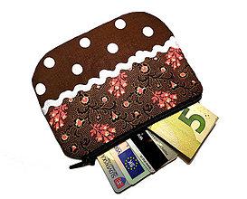 Peňaženky - taštička/peňaženka 11,5cmx9cm - 10170702_