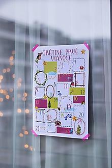 Detské doplnky - Adventný kalendár pre najmenších - 10171546_