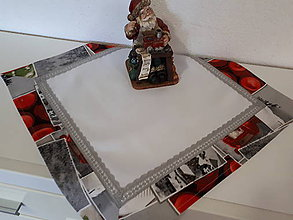 Úžitkový textil - Prestieranie Zasnežená krajinka - 10173772_