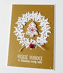 Papiernictvo - pohľadnica vianočná - 10169679_