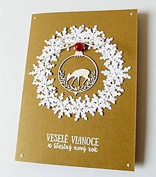 Papiernictvo - pohľadnica vianočná - 10169727_