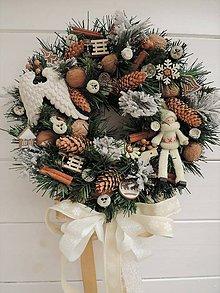 db1cd7390 celoročné a sezónne dekorácie - Clarah Vence vianočné vence, zimné ...