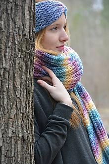 Ozdoby do vlasov - Měnící pastelová - 10172018_