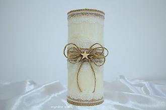 Svietidlá a sviečky - Vianočná :) - 10171767_