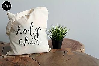 Nákupné tašky - Holy chic! - 10171755_