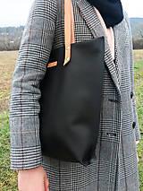 Veľké tašky - Veľká kožená taška - 10172937_