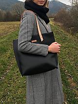 Veľké tašky - Veľká kožená taška - 10172938_