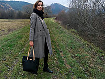Veľké tašky - Veľká kožená taška - 10172940_