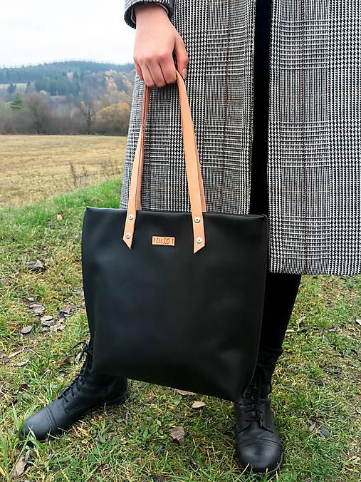 Veľká kožená taška