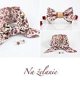 - Na želanie - elegantné kvetinové šatky a motýliky