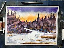 Obraz Magického lesa