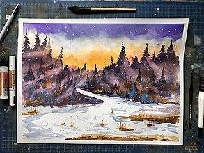 Obrazy - Obraz Magického lesa - 10169900_