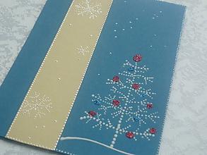 Papiernictvo - Vianočná pohľadnica - 10169094_