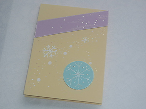 Papiernictvo - Pohľadnica- vianočné sneženie - 10169226_