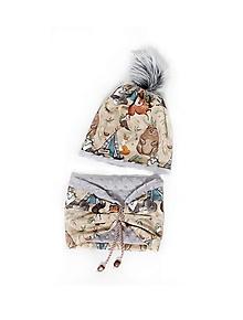 Detské čiapky - Originálny set UNI veľkosť - 10172336_