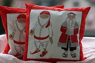 Úžitkový textil - Vianoce. Vianočné obliečky na vankúše. - 10171148_