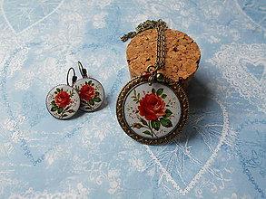 Sady šperkov - Krásna ruža III. - 10171334_