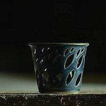 Svietidlá a sviečky - Lampička Véčko lístek - Z hlubin Země - 10170680_