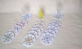 Úžitkový textil - Podšálky na vianočný stôl - 10170055_