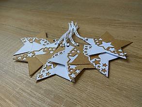 Papiernictvo - Vianočné menovky / Visačky III - 10170241_