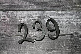 Tabuľky - Popisné číslo: Samostatná číslica Modern - 10172158_