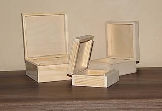 Polotovary - krabice masív 3v1 - 10170523_