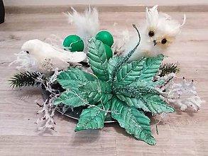 Dekorácie - Vianočná dekorácia na stôl - 10170719_