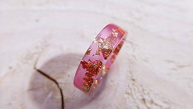 Prstene - Živicový prsteň - 10173024_
