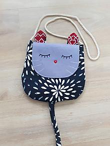 Detské tašky - Kabelka mačička - 10170100_