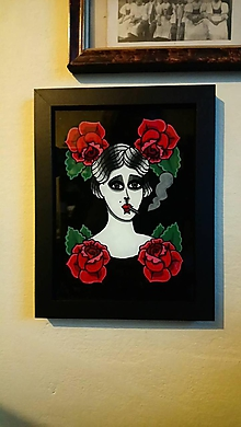 Obrázky - Maľba na sklo