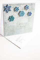 Papiernictvo - Vianočná pohľadnica krásne sviatky - 10171983_